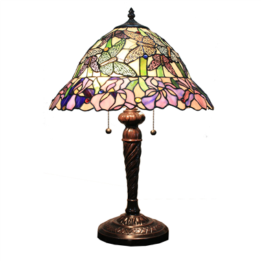 TL160045 16inch butterfly tiffany table lights tiffany table lamp from Jiufa