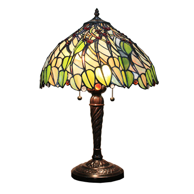 TL160046 16 inch Tiffany Table Lamp desk light  lighting fixture