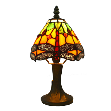 TL060016 6 inch  small dragonfly  tiffany talbe lamp gift for child tiffany table lights