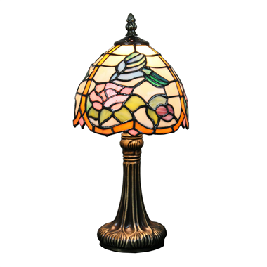 TL070008 7 inch flower tiffany lamp 티 파 니 테이블 lamp table lighting