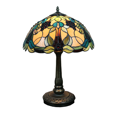 TL160047 16 inch Tiffany Table Lamp desk light  lighting fixture from China