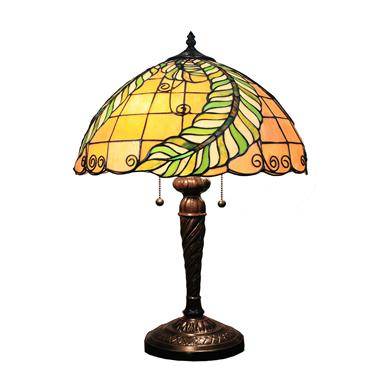 TL160048 16inch Beautiful leaves tiffany table lights tiffany table lamp from Jiufa