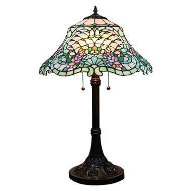 TL160051 16inch Complex pattern Tiffany Table Lamp desk light  lighting fixture