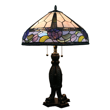 TL160052 16inch tiffany table lamp Jiufa tiffany lighting factory