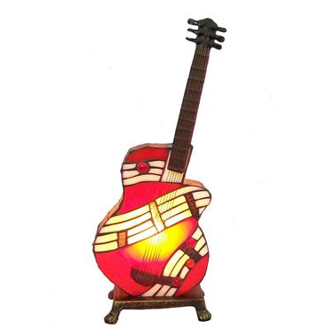 TLC00009 Guitar Accent Lamp Decorate Tiffany Lighting