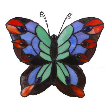 TLC00001 tiffany butterfly lamp