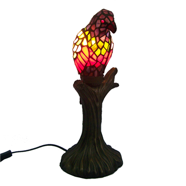 TLC00002-bird tiffany table lamp accent lights
