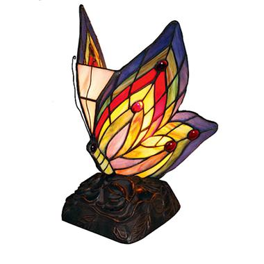 TLC00005-butterfly accent lamp tiffany lighting from Jiufa tiffany factory