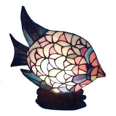 TLC00008-tiffany fish lamp accent lamp home decoration lights