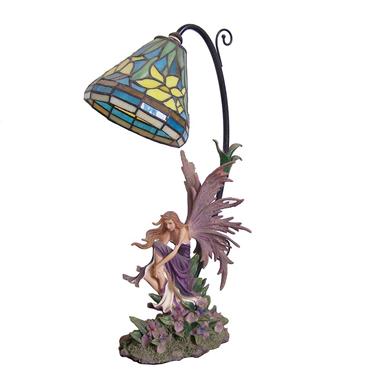 TLC00011-Fairy Tiffany Lamp desktop decoration accent lighting