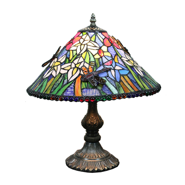 TL160056 16inch tiffany table lamp Jiufa tiffany lighting factory