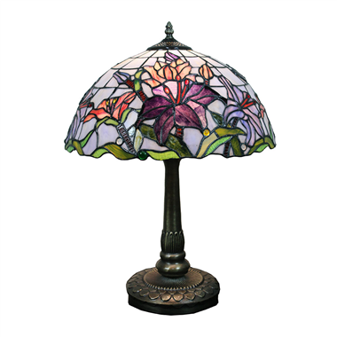 TL160058 tiffany table lamp Flower table light art glass decoration