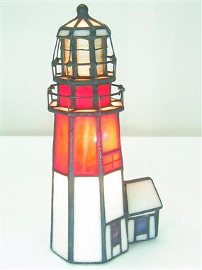 TLC00016 many type tiffany Lighthouse series desktop decoration table lamp