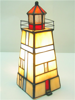 TLC00028 many types tiffany Lighthouse series desktop decoration table lamp