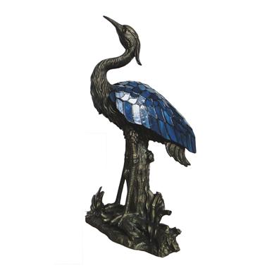 TLC00059- Waterfowl  Heron bird tiffany lamp decoration lights