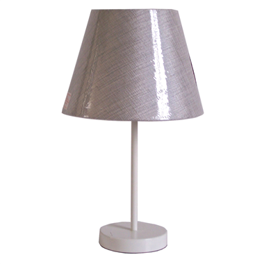 TRF100001  10 inch modern fabric table lamp cloth lighting