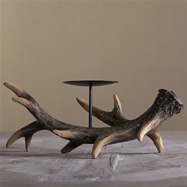 CH0004-antler tealight candle holder Gifts & Decor  Deer horn  1 sets