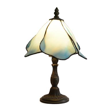 TL080077 8 inch mini desk lamp, blue Tiffany Style desk lamp, lovely children lamp gift