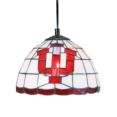 PL100007 10 inch Tiffany Style letter 1-light Pendant Lamp hanging lamp