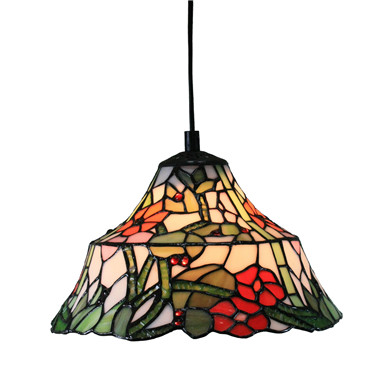 PL100008 10 inch Tiffany Style Flower 1-light Pendant Lamp hanging lamp
