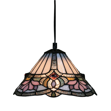 PL1000011 10 inch Tiffany Style 1-light Pendant Lamp hanging lamp