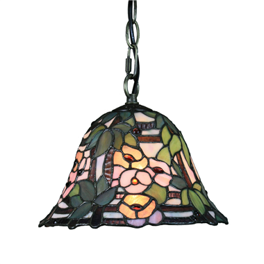 PL100014 10 inch Tiffany Style bell 1-light Pendant Lamp with chain  hanging lamp