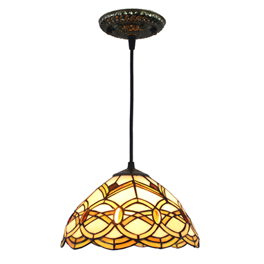 PL100019 10 inch Tiffany Style 1-light Pendant Lamp for gift hanging lamp