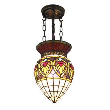PL100020 10 inch Tiffany Style 1-light Pendant Lamp hanging lamp