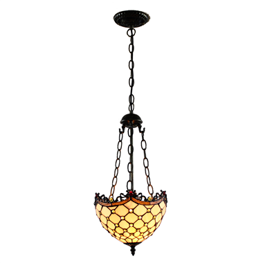 PL100022 10 inch Tiffany Style grape 1-light Pendant Lamp with chain  hanging lamp