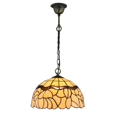 PL120004 12 inch Tiffany Style Pendant Lamp with chain  hanging lamp