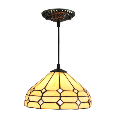 PL080007 8 inch Tiffany Style Pendant Lamp stained glass hanging lighting
