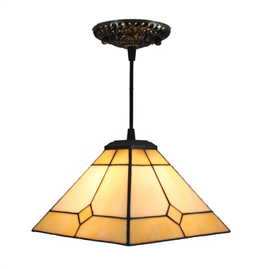 PL080009 8 inch Tiffany Style Pendant Lamp stained glass hanging lighting