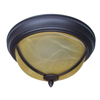 CL150000 15 inch tiffany ceiling lamp Round Glass Flush Mount Ceiling Lighting