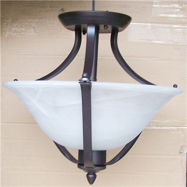 CL160000 16 inch up tiffany ceiling lamp  white Round Glass Ceiling Lighting