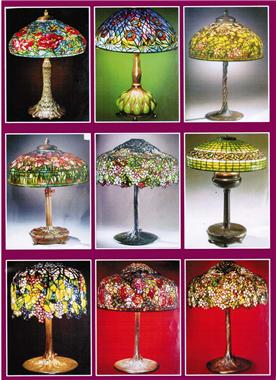 Classical  Collection  Copper base Tiffany table lamp  Copper lamp series