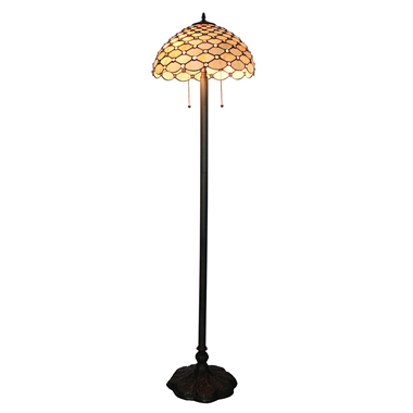 FL160003 16 inch Tiffany floor lamp stained glass floor lamp from China