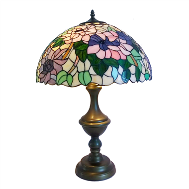 TL180013 18inch Zinc alloy base tiffany table lights tiffany table lamp from Jiufa