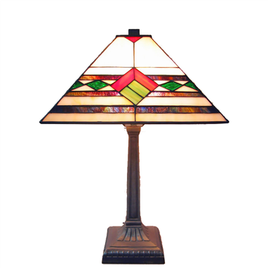 TL140003 14 inch Zinc alloy base tiffany table lights tiffany table lamp from Jiufa
