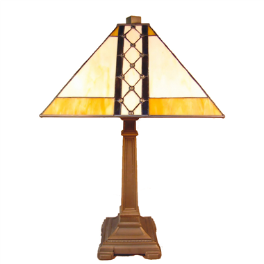 TL140005 14 inch Zinc alloy base dragonfly tiffany table lights tiffany table lamp from Jiufa