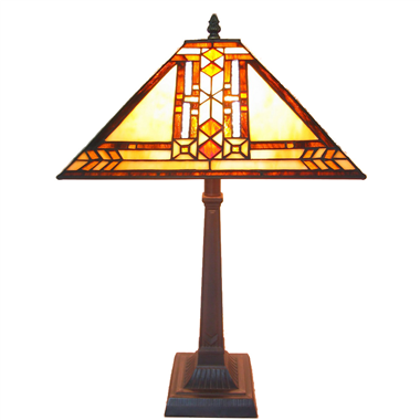 TL140007 14 inch Zinc alloy base  tiffany table lights tiffany table lamp from Jiufa