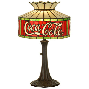 TL120019 12 inch TIFFANY LAMP table lamp Cocacola letter lamp