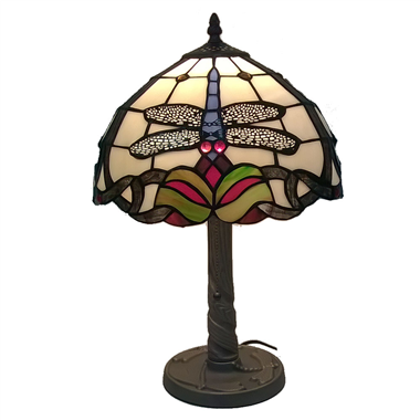 TL120002 12 inch TIFFANY LAMP dragonfly table lamp  gift for new house from China
