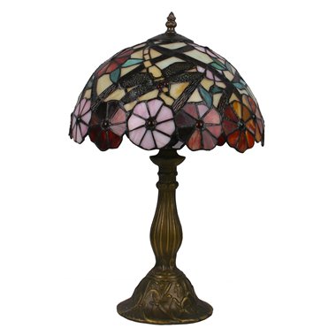 TL120006 12 inch flower TIFFANY LAMP table lamp  gift for new house from China