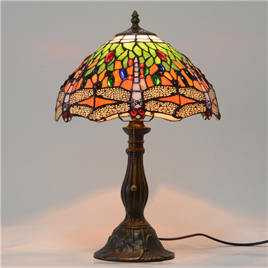 TL120022 12 inch dragonfly TIFFANY LAMP table lamp  gift for new house from China
