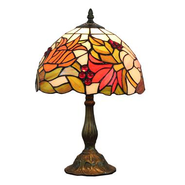 TL100003 10 inch tiffany table lamp from China Jiufa