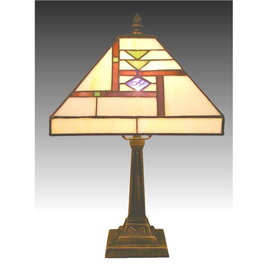 TL100005 10 inch zinc  alloy base tiffany table lamp from China Jiufa