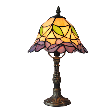 TL100014 10 inch resin base tiffany table lamp from China Jiufa