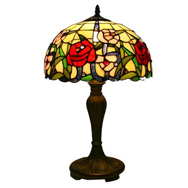 TL120010 12 inch rose TIFFANY LAMP table lamp  gift for new house from China