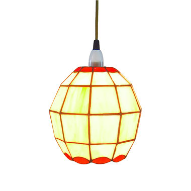 Pl081001 ball shade tiffany pendant lamp Jiufa