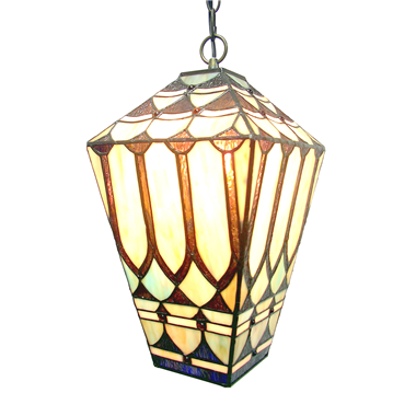 PL081002 8inch British street lights tiffany pendant lamp